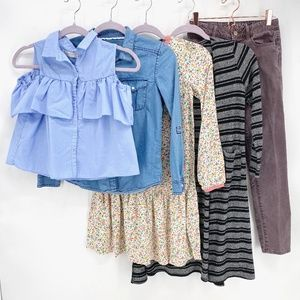 Girls' Mixed Brands Lot of 5 Pieces Size 10-12